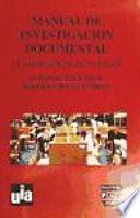 Manual de investigación documental