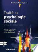 illustration du livre Traité de psychologie sociale