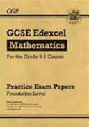 New GCSE Maths Edexcel Practice Papers  Foundation   For the Grade 9 1 Course