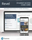 Financial Markets and Institutions Revel Access Code