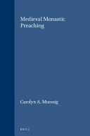Medieval Monastic Preaching