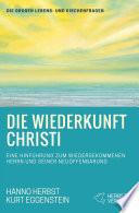 Die Wiederkunft Christi