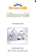 Science Vocabulary Readers  Wild Weather   Blizzards