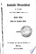 Lausizische Monatsschrift