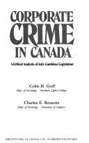 Corporate crime in Canada