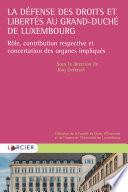 La D Fense Des Droits Et Libert S Au Grand Duch De Luxembourg