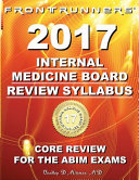 FRONTRUNNERS   Internal Medicine Board Review Syllabus 2017