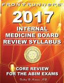 FRONTRUNNERS   Internal Medicine Board Review Syllabus 2017