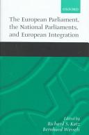 The European Parliament, the National Parliaments, and European Integration