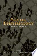 Social Epistemology