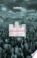 Poetics of Opposition in Contemporary Spain