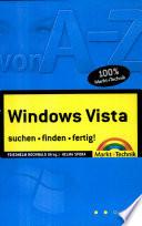 Windows Vista von A Z