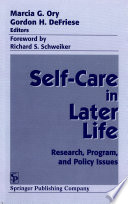 Self Care In Later Life book