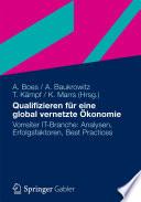 Qualifizieren F R Eine Global Vernetzte Konomie