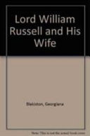 Lord William Russell and his wife  1815 1846
