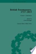 British Freemasonry  1717   1813