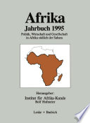 Afrika Jahrbuch 1995