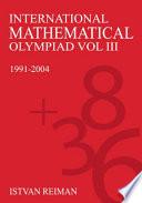 International Mathematical Olympiad  1991 2004