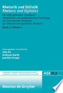 Rhetorik Und Stilistik/ Rhetoric and Styistics