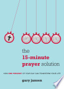 The 15 Minute Prayer Solution Book PDF