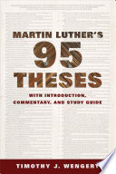 Martin Luther S Ninety Five Theses