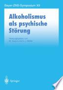 Alkoholismus als psychische Störung