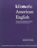 Idiomatic American English