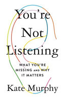 You re Not Listening Book PDF