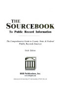The Sourcebook to Public Record Information
