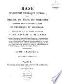 Suite des Mémoires de l'Institut