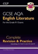 New GCSE English Literature AQA Complete Revision   Practice   For the Grade 9 1 Course