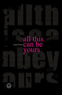 All This Can Be Yours Pdf/ePub eBook
