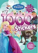 1000 Stickers  Disney Frozen