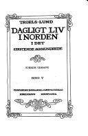 Dagligt liv i Norden i det 16de aarhundrede
