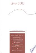 Econom  a  marco institucional y medio ambiente