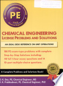 Chemical Engineering License Problems and Solutions