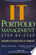 IT  Information Technology  Portfolio Management Step by Step