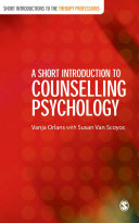A Short Introduction to Counselling Psychology