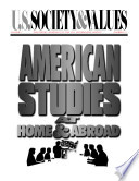 American Studies at Home and Abroad