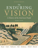 The Enduring Vision, Volume I: To 1877