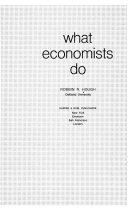 What economists do