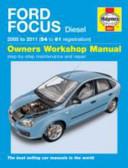 Ford Focus Diesel Service And Repair Manual