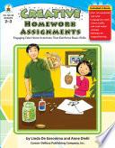 Creative Homework Assignments  Grades 2   3