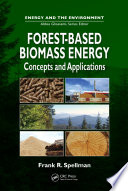 Forest Based Biomass Energy