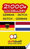 download ebook 21000+ german - dutch dutch - german vocabulary pdf epub