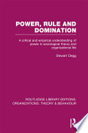Power  Rule and Domination  RLE  Organizations