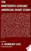 The Nineteenth century American Short Story