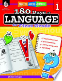180 Days of Language for First Grade  Practice  Assess  Diagnose