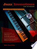Jazz Inventions for Keyboard  Book   CD