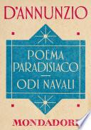 Poema paradisiaco   Odi navali  e Meridiani Mondadori